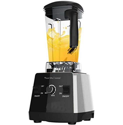 Miscelatore elettrico multifunzionale dell'acciaio inossidabile degli spremiagrumi/macchina miscelatore professionale per le frullate ed i frullati mixer del latte di soia nero 1.5l 4-5 la gente,110v