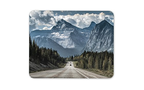 Awesome Mountain Road Mouse Mat ...