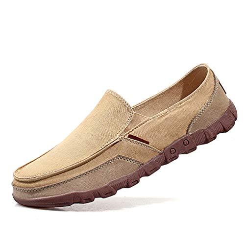 Uomini mocassini moda confortevole scarpe casual estate scarpe luce