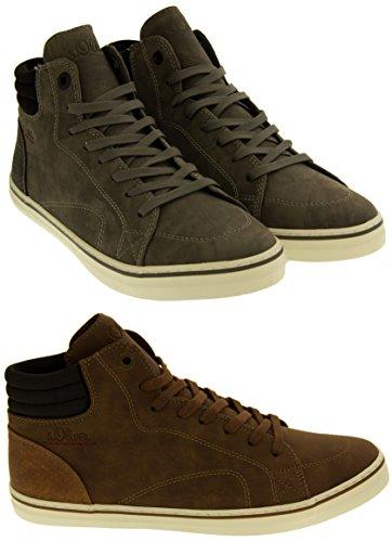 Footwear Studio S.Oliver 25208 Daim Effet Baskets Montantes Bottes Femmes