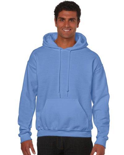 Gildan Heavy Blend Erwachsenen Kapuzen-Sweatshirt 18500, Carolina Blue, S (Sweatshirt Carolina Kapuze Blau)
