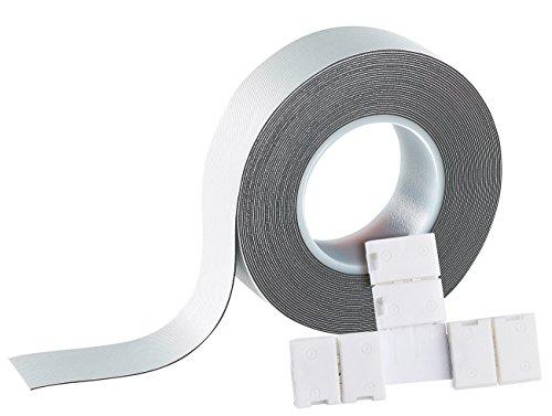 Lunartec Zubehör zu LED-Leisten flach: T-Verbindungsstück für LED-Streifen der Serie LE, IP44 (LED Strips)