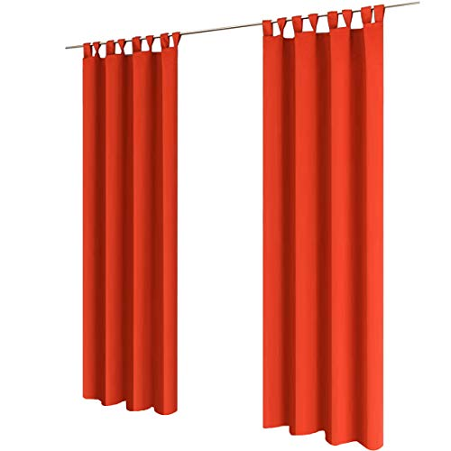 2 piezas Gräfenstayn® Alana - cortina térmica opaca