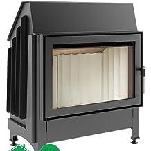 nicpont succsale de cheminée modèle d'utilisation: kratki Zibi–Dimensions (L x H): 765x 875mm de du fabricant européen Marque kratki Hydrate vos Appartement avec agréable et chaleur douce
