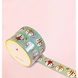 Cute Fuchs Washi Tape for Planning • Planer und Organizer • Scrapbooking • Deko • Office • Party Supplies • Gift Wrapping • Colorful Decorative • Masking Tapes • DYI (15mm breit - 10 Meter)
