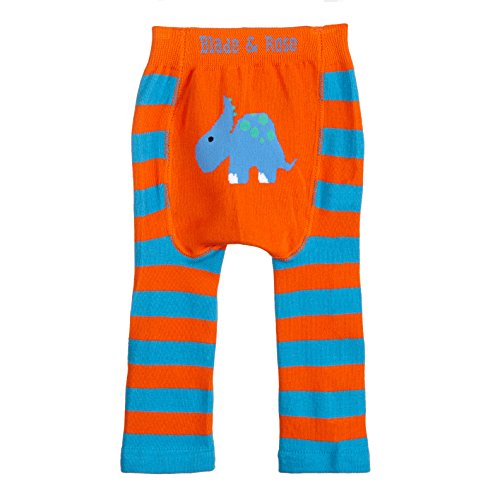 Blade & RoseBaby Jungen (0-24 Monate) Leggings Mehrfarbig Blue/Orange