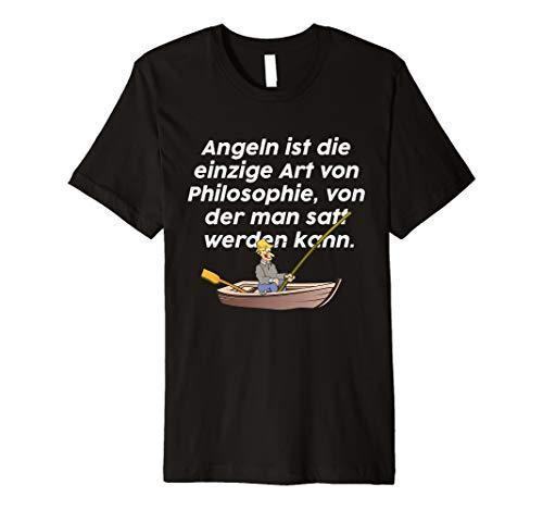 Angler angeln fischen Fischer Angel T-Shirt lustiger Spruch