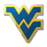 Team ProMark NCAA - Emblema de color troquelado automático, CE3U079, West Virginia Mountaineers