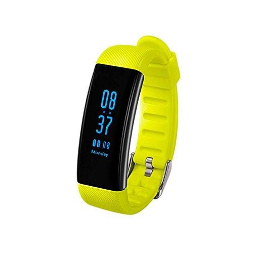 Fitness Tracker, Fitness Armbanduhr HR Pulsuhr Schrittzähler Herzfrequenzmesser, Schrittzähler, Schlaf-Monitor, Aktivitätstracker,Anrufen / SMS Sport uhr langlebige Batterie,kompatibel mit iPhone und Samsung Android