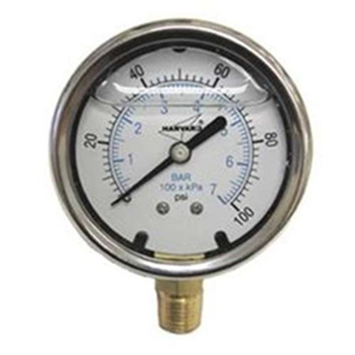- Manometer Flüssigkeit (American Granby EILPG1002-4L Mit Flüssigkeit gefüllte Manometer)