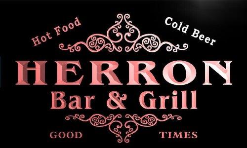 u19941-r-herron-family-name-gift-bar-grill-home-beer-neon-light-sign-barlicht-neonlicht-lichtwerbung