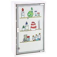 Medizinschrank Arzneischrank Erste Hilfe Verbandsschrank Wandschrank Medikamentenschrank Weiß Tip-On 30x50x15cm preisvergleich bei billige-tabletten.eu