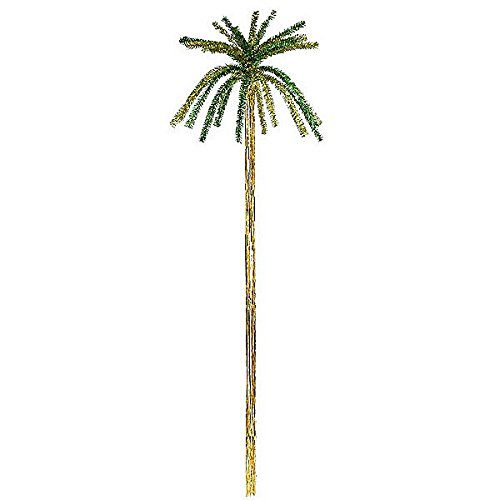 Tinsel Palmtrees H 200cm Accessory for Fancy Dress