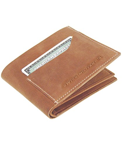 Swiss Military Men's Brown Wallet (LW2)