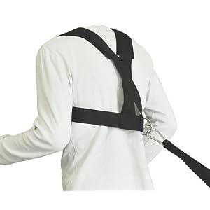 Bad Company Nylon Zuggeschirr für Zugschlitten I Schulter-Sprintgurt für Schnelligkeits- und Ausdauertraining