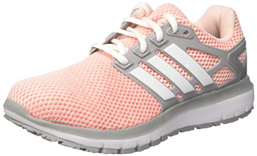 adidas Women's Energy Cloud Competition Running Shoes, Pink (Icey Pink/Footwear White/Mid Grey),...
