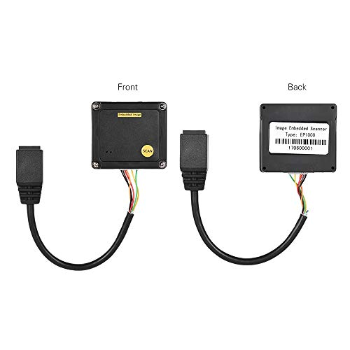 Supermarkt Büro Embedded 1D Barcode Scanner Reader Modul CCD Barcode Scanner Engine Modul Mit USB-Schnittstelle Portables Scannen (Size : 1)