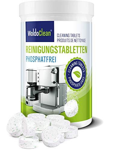 Phosphatfreie Reinigungstabletten für Kaffeevollautomaten & Kaffeemaschinen aller Hersteller 140x 2g