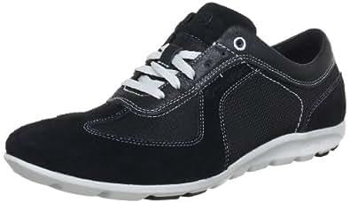 Rockport Men's Truwalk Zero Touring T-toe Black/Light Grey Lace Up K74102 6.5 UK