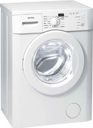 gorenje wa50129s waschmaschine frontlader a 5 kg eco 15 c quick 17 15 programme. Black Bedroom Furniture Sets. Home Design Ideas
