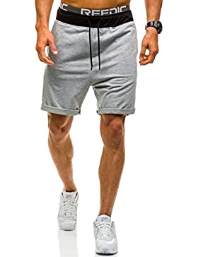 BOLF hombre Pantalones Cortos Bermudas Jogging Shorts Aptitud [7G7] ordinario