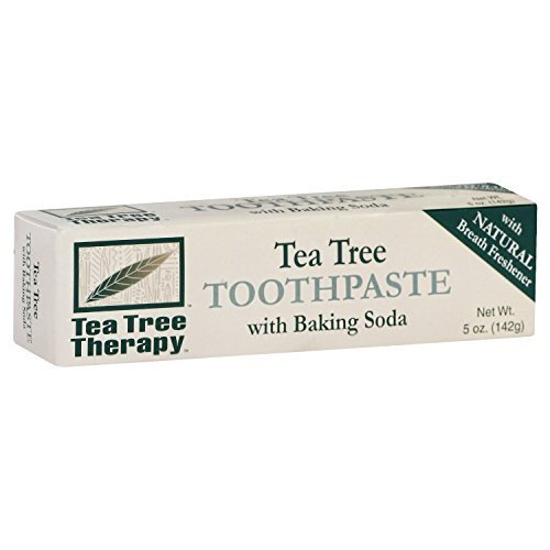 Tea Tree Therapy Toothpaste with Baking Soda 5 Oz ( 2 Pack) by Tea Tree Therapy