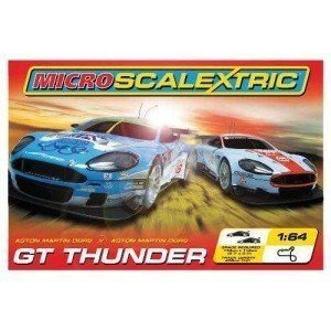 Scalextric - SCAG1067 - Véhicule Miniature et Circuit - Coffret GT Thunder
