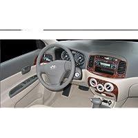 Hyundai Dash Accent Interior de Madera del Burl Juego de Acabados Set 2006 2007 2008 2009