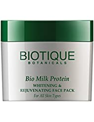 Bio Milk Protein Whitening and Rejuvenating Face Pack For All Skin Types