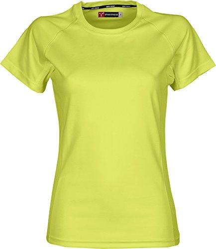 Dry-Tech Sports T-Shirt mit Raglan-Ärmeln Neongelb M