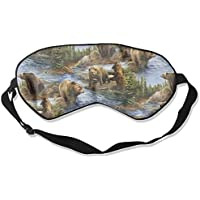 Cute Bear Lover Sleep Eyes Masks - Comfortable Sleeping Mask Eye Cover For Travelling Night Noon Nap Mediation... preisvergleich bei billige-tabletten.eu