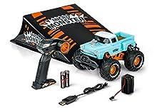 Carson 500404156 - Micro Monster con rampa 2,4 G 100% RTR, auto radiocomandata, per principianti, batterie incluse e telecomando