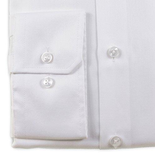 SEIDENSTICKER Tailored Hemd Langarm Haifischkragen Oxford weiß Weiß