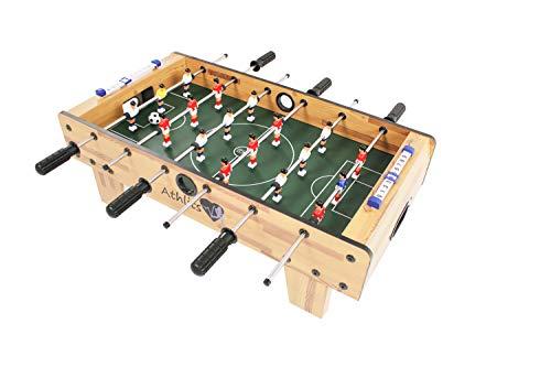 Kemket Table Football Foosball Soccer Indoor Outdoor Gaming Games Play Arcade Sports Fun