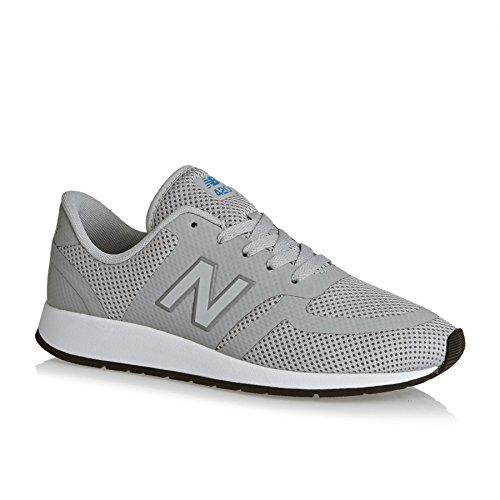New Balance Trainers - New Balance Kids 420 Lace Shoes - Grey/Polaris Blue Gris