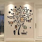 Lizp 3D Le Cristal en Trois Dimensions Photo Mur Sticker Mural Acrylique Chaton Mur...