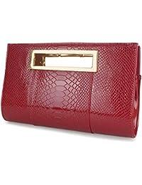21d1a5557ad6e Amazon.it  Pochette Oro Rosa - Rosso  Scarpe e borse