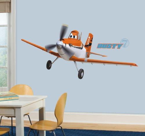 Roommates 22890 - Disney Planes Dusty Riesen-Wandtattoo/Sticker, geblistert, 174 x 63 cm (Werden Junge Echos)
