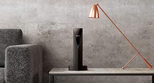 Philips Linea V Design (M350) Cordless Phone with Speaker, Black