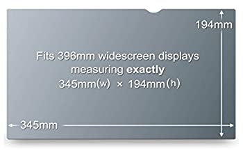 15.6w9 Blickschutzfilter Privacy Screen Filter Film 345x194 Mm (16:9 Ratio) 4