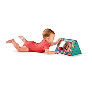 Bright Starts Sit and See Safari Floor Mirror from Bright Starts