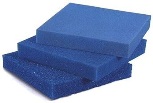 Filterschaum Filtermatte - Blau 50 x 50 x 3 cm \'grob\' (ppi 10)