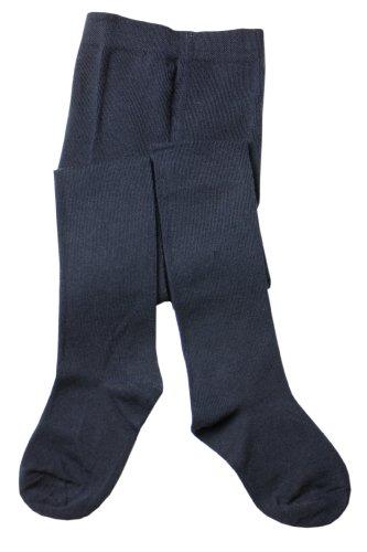 Weri spezials fein gestrickte Baby-und Kinderstrumpfhose Glatt in Marine, Gr.98-104 (3-4 Jahre)
