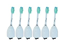 ProBright Replacement Brush Heads For Philips Sonicare Toothbrush E Series HX7022/66 (6 Pack)