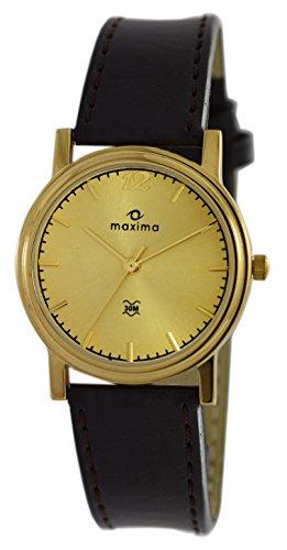 Maxima Analog Gold Dial Men's Watch - 05173LMGY