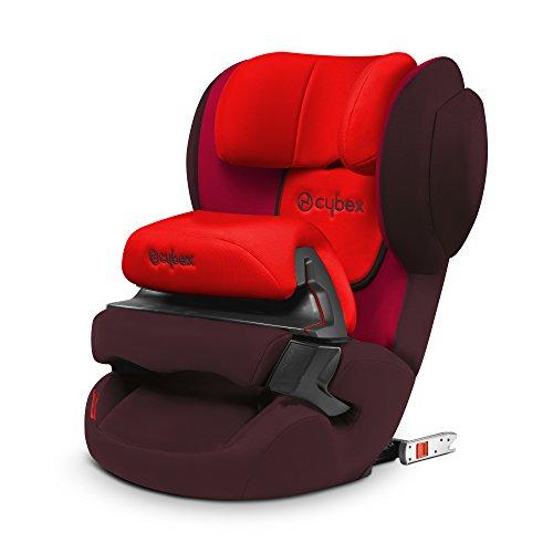 Preisvergleich Produktbild CYBEX SILVER Juno-fix, Autositz Gruppe 1 (9-18 kg), Rumba Red