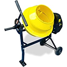 Megamix Cement Mixer CM46 240v Powerful 300W 35RPM Electric portable cement , mortar & concrete mixer. 46L capacity Drum. Portable & Easy to Load.