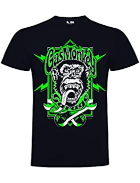 GAS MONKEY T-SHIRT NEW 2018 COLLECTION - GMG GREEN WRENCHES