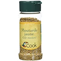 Cook Moutarde Jaune Grains Bio 60 g