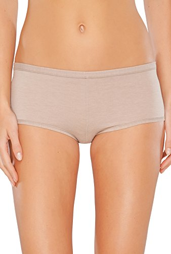 Schiesser Damen Panties Personal Fit Shorts Braun
